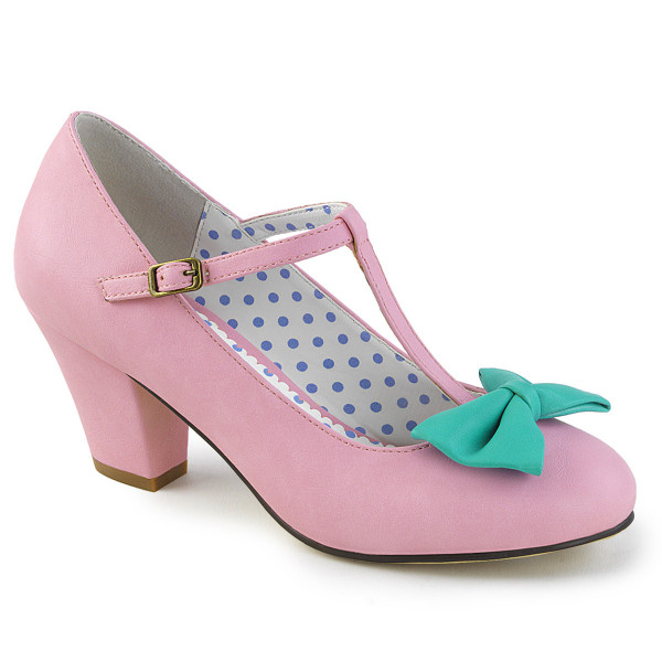 WIGGLE-50 ° Damen Pumps ° Pink ° Pin Up Couture