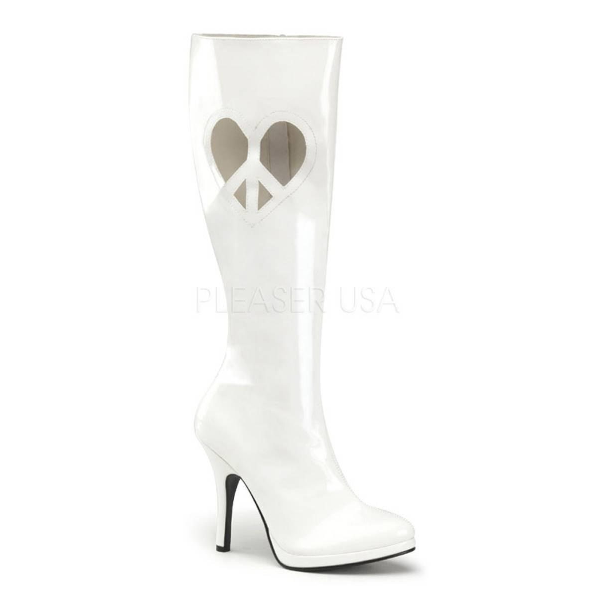 Stiefel - LOVE 270 ° Damen Stiefel ° Weiß Glänzend ° Funtasma  - Onlineshop RedSixty