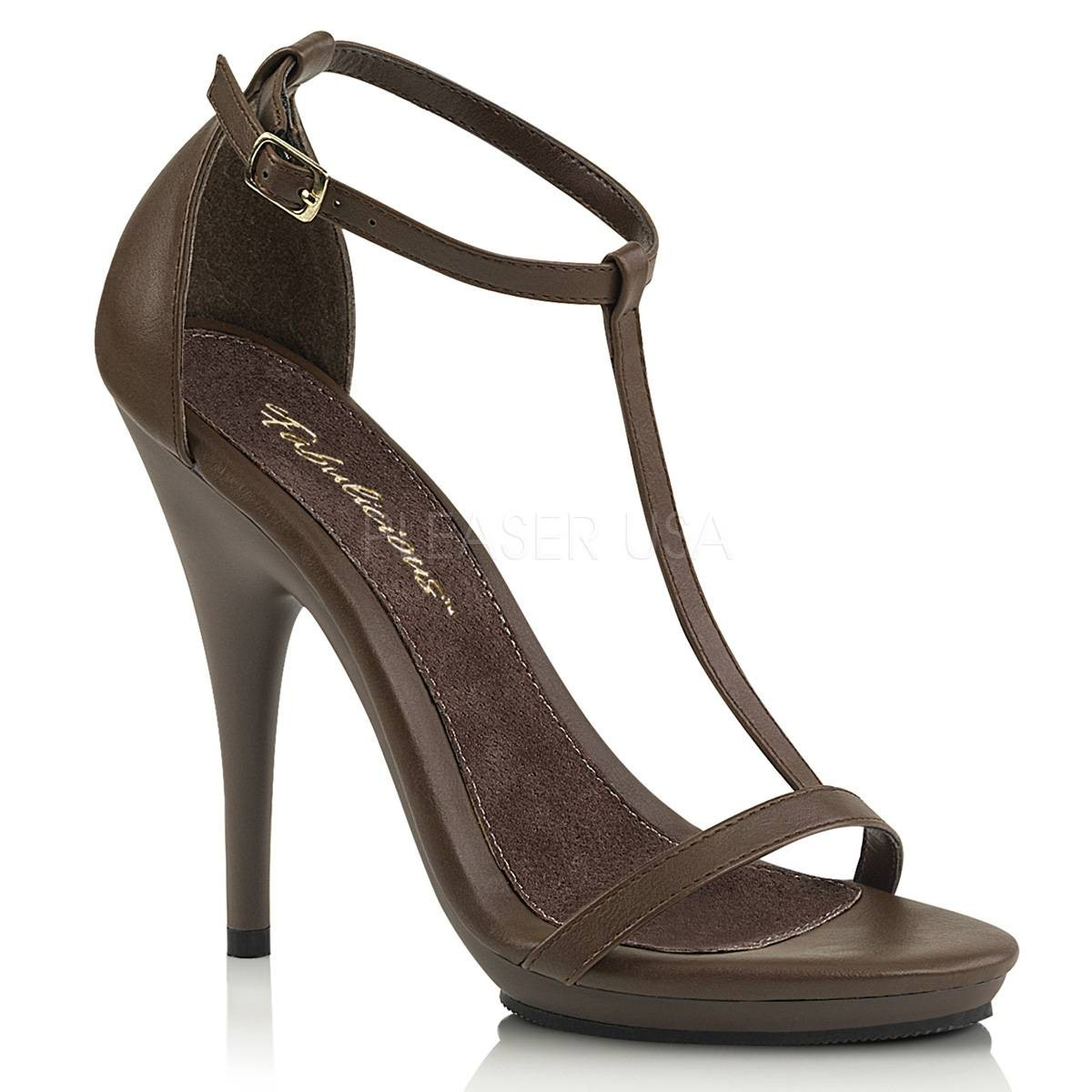 Sandalen - POISE 526 ° Damen Sandalette ° BraunMatt ° Fabulicious  - Onlineshop RedSixty