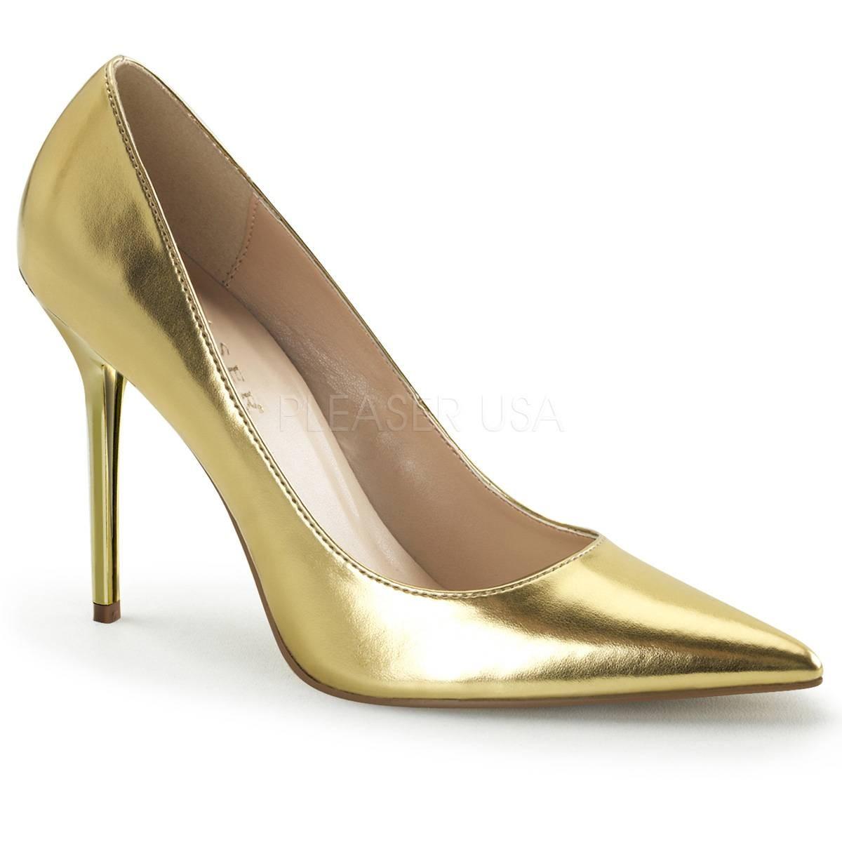 Pumps - CLASSIQUE 20 ° Damen Pumps ° Gold Matt ° Pleaser  - Onlineshop RedSixty