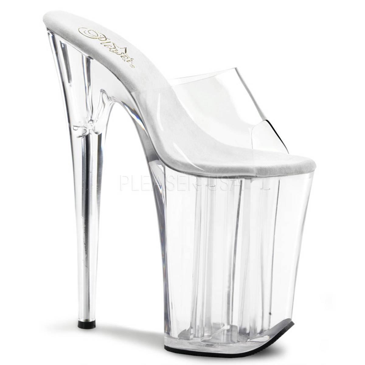 Highheels für Frauen - INFINITY 901 ° Damen Sandalette ° Transparent Matt ° Pleaser  - Onlineshop RedSixty