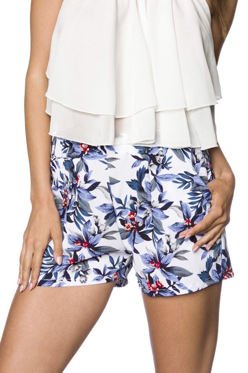 Hosen - Shorts ° Blau Weiß ° Hipstylers  - Onlineshop RedSixty