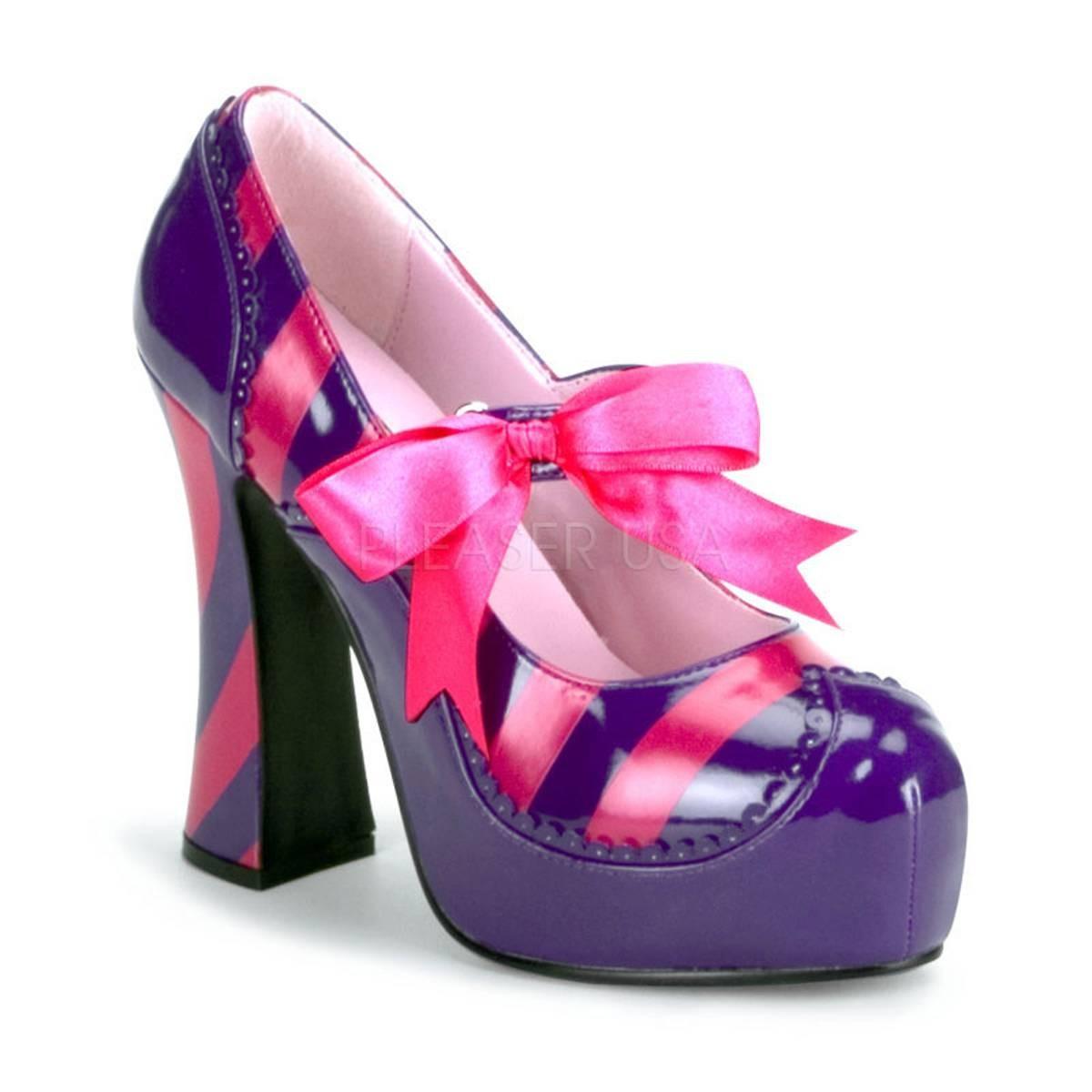 Pumps für Frauen - KITTY 32 ° Damen Pumps ° Violett Pink Glänzend ° Funtasma  - Onlineshop RedSixty