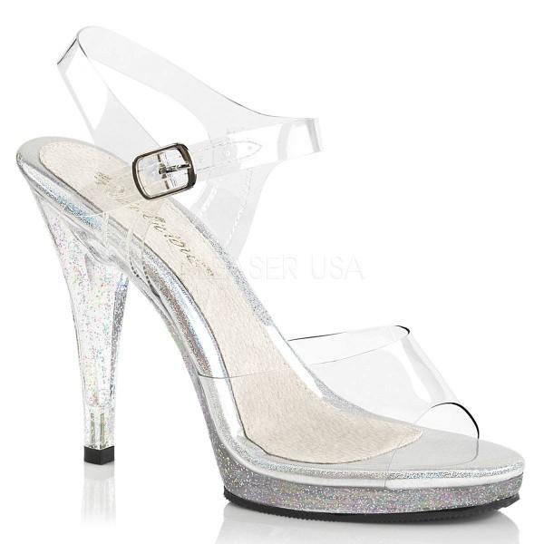 FLAIR 408MG ° Damen Sandalette ° TransparentMatt ° Fabulicious