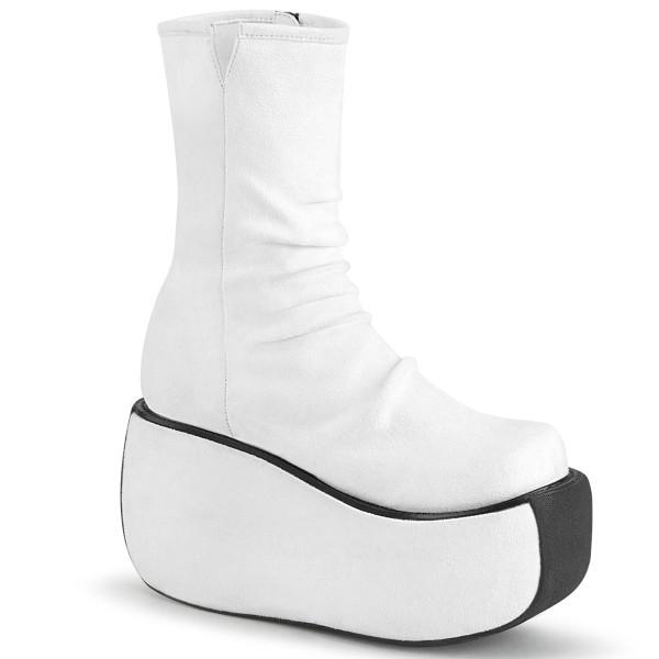 VIOLET-100 ° Damen Stiefelette ° Weiß ° Demonia