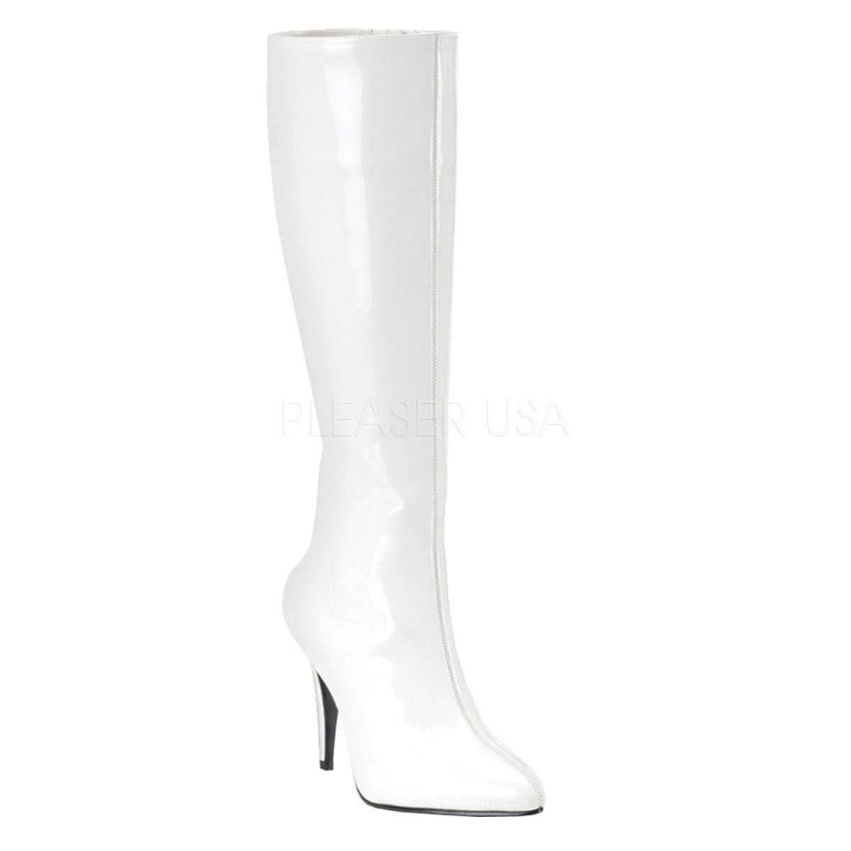 Stiefel - LUST 2000 ° Damen Stiefel ° Weiß Glänzend ° Funtasma  - Onlineshop RedSixty