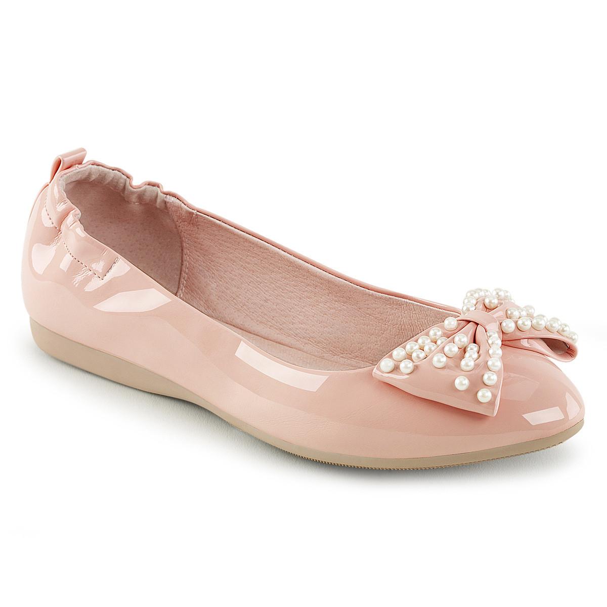 Ballerinas - IVY 09 ° Damen Ballerina ° Babypink ° Lack ° Pin Up Couture  - Onlineshop RedSixty