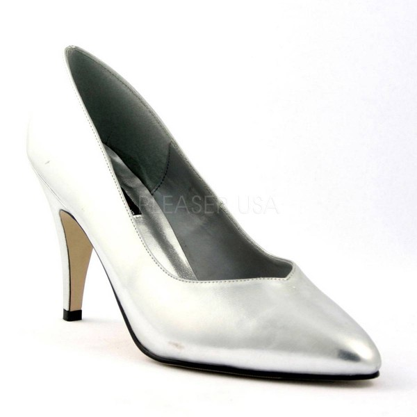 DREAM 420W ° Damen Pumps ° Silber Matt ° Pleaser