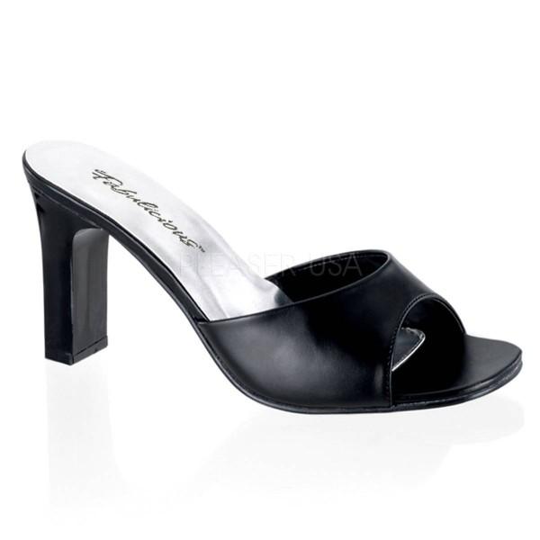 ROMANCE 301 2 ° Damen Sandalette ° Schwarz Matt ° Fabulicious