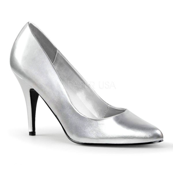 3ad61309e8cbd VANITY 420 ° Damen Pumps ° Silber Matt ° Pleaser