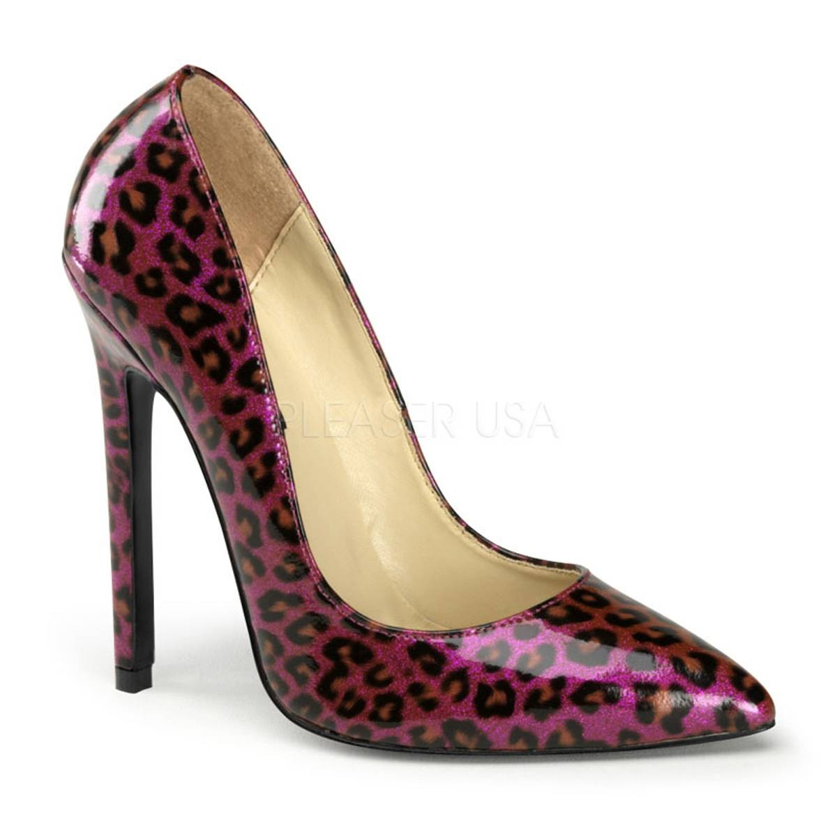 Pumps für Frauen - SEXY 20 ° Damen Pumps ° Violett Schwarz Glänzend ° Pleaser  - Onlineshop RedSixty