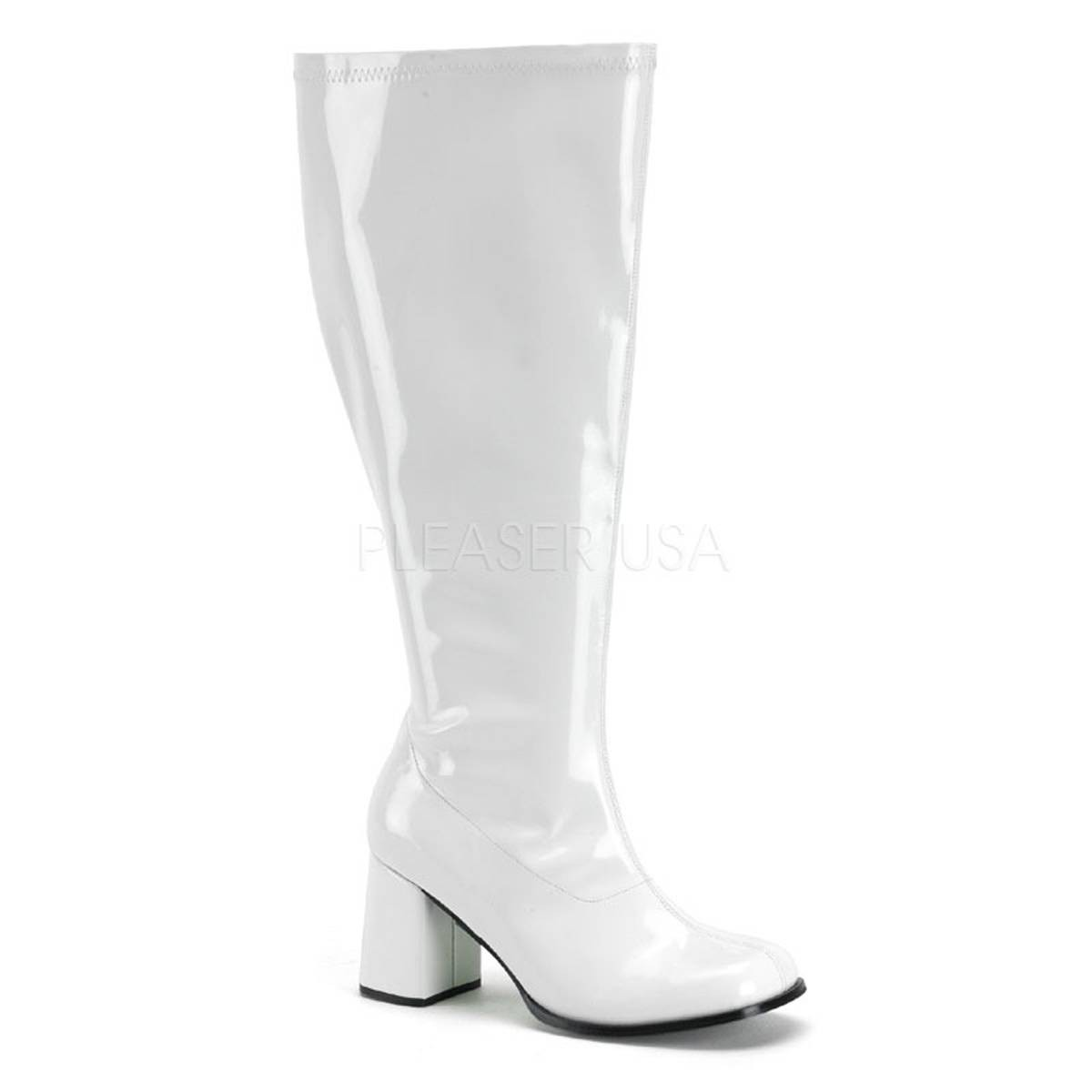 Stiefel - GOGO 300X ° Damen Stiefel ° Weiß Glänzend ° Funtasma  - Onlineshop RedSixty