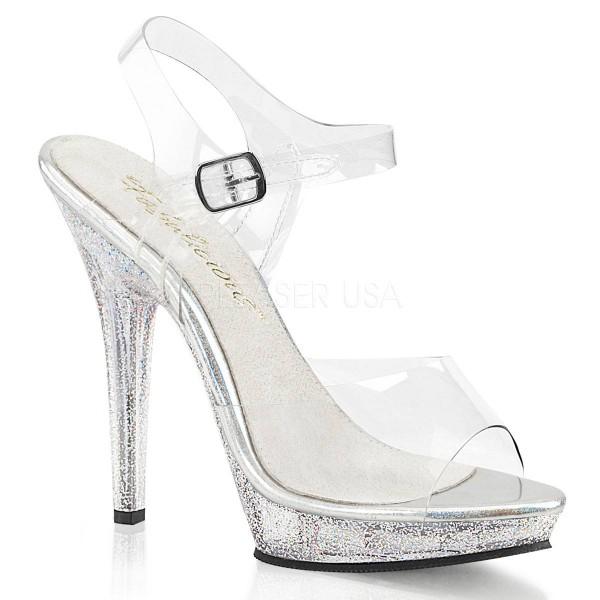 LIP 108MG ° Damen Sandalette ° TransparentMatt ° Fabulicious