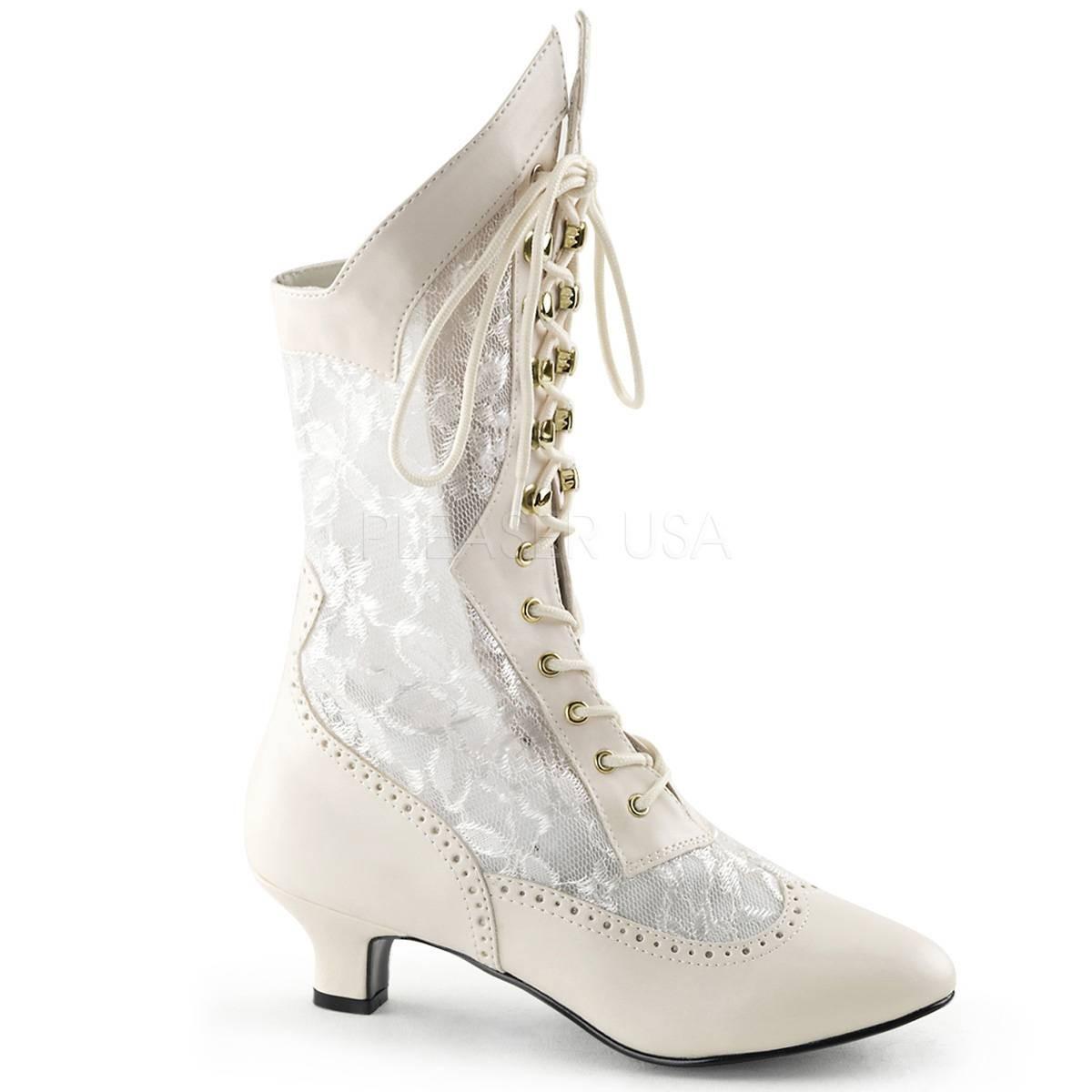 Stiefel - DAME 115 ° Damen Stiefel ° Weiß Matt ° Funtasma  - Onlineshop RedSixty