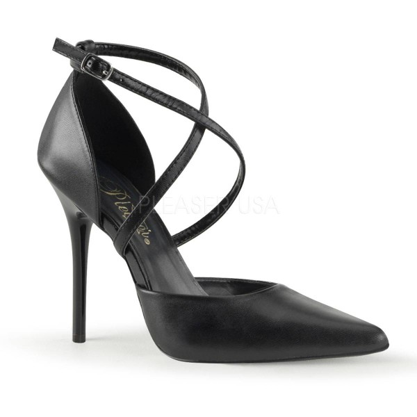 MILAN 42 ° Damen Pumps ° Weiß Leder ° Pleaser