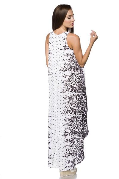 Kleid ° Weiß-Schwarz ° Hipstylers