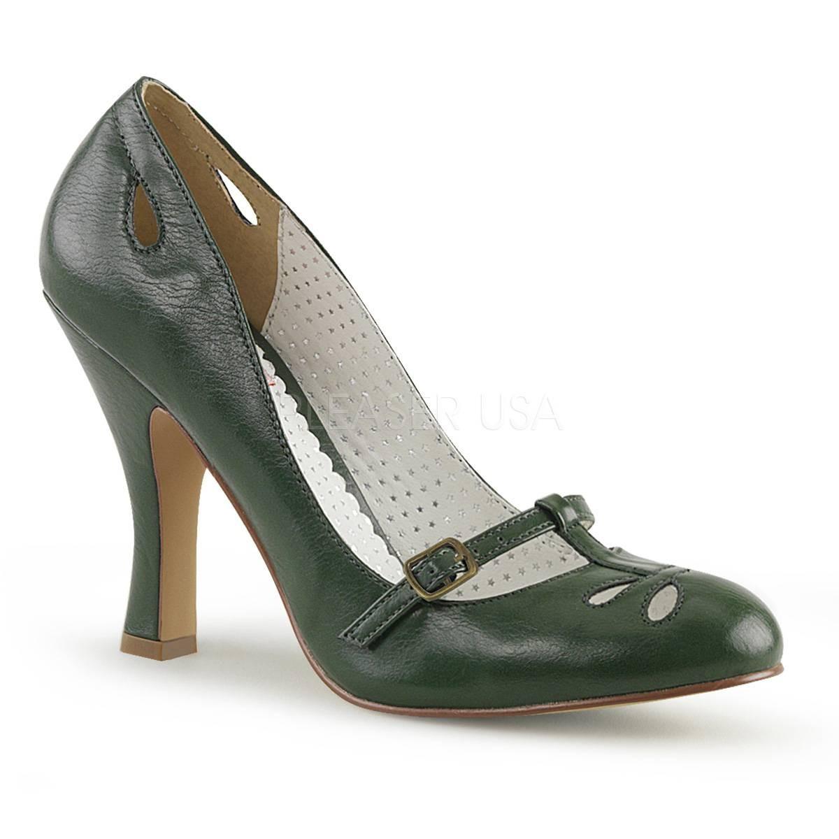 Pumps - SMITTEN 20 ° Damen Pumps ° GrünMatt ° Pin Up Couture  - Onlineshop RedSixty