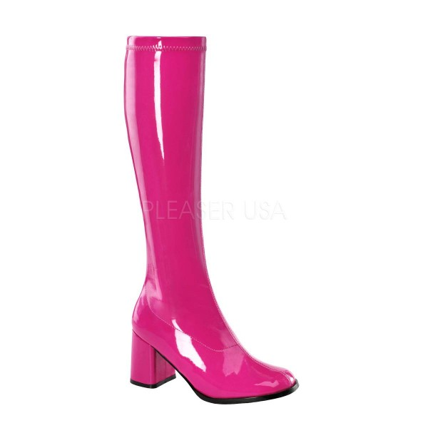 cheap for discount 8e51d ad193 GOGO 300 ° Damen Stiefel ° Pink Glänzend ° Funtasma
