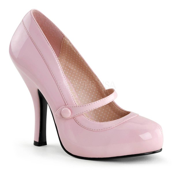 CUTIEPIE 02 ° Damen Pumps ° Rosa Glänzend ° Pin Up Couture