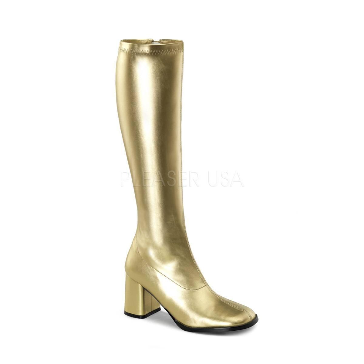 Stiefel - GOGO 300 ° Damen Stiefel ° Gold Matt ° Funtasma  - Onlineshop RedSixty