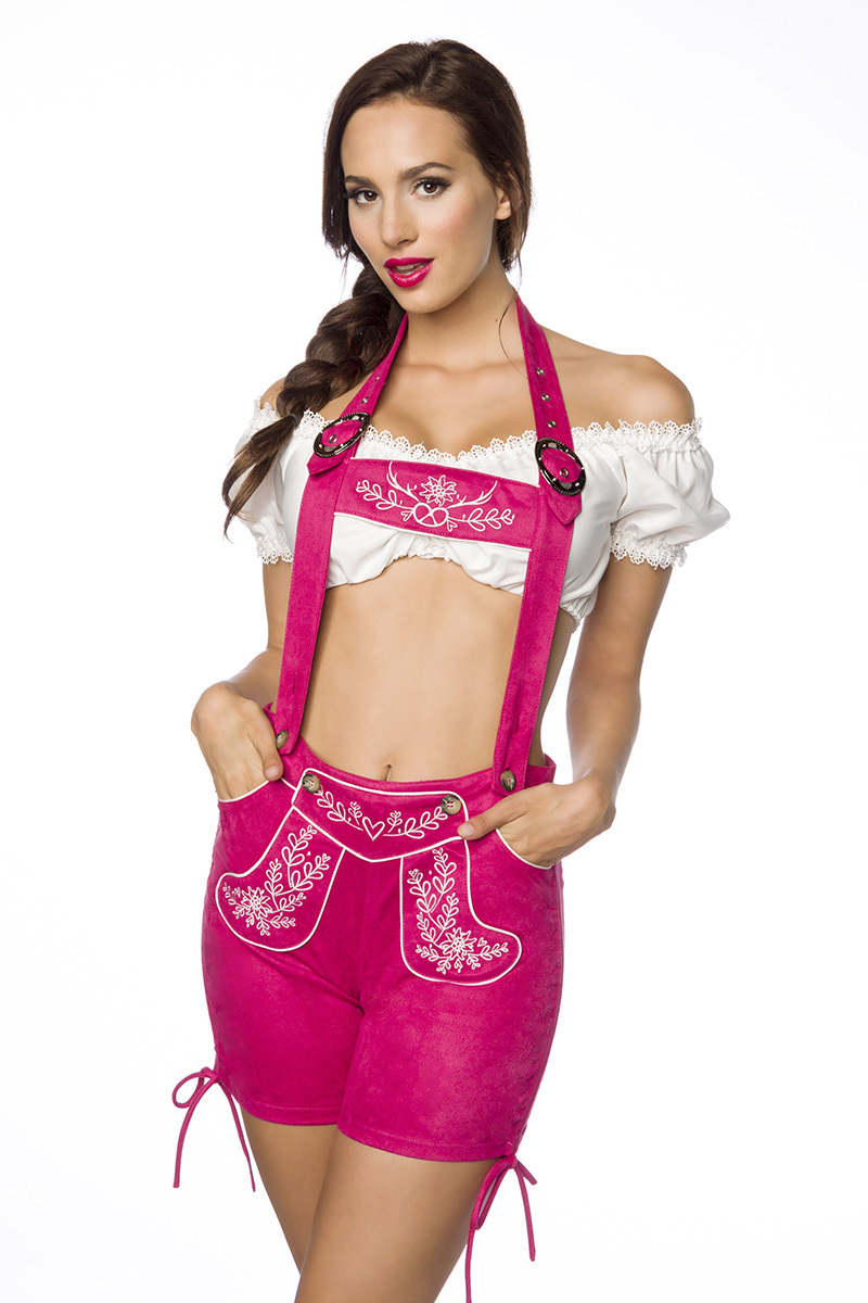 Trachtenshorts mit Stickereien ° Pink ° Dirndline   Hosen   Fashion    RedSixty efe9352e30