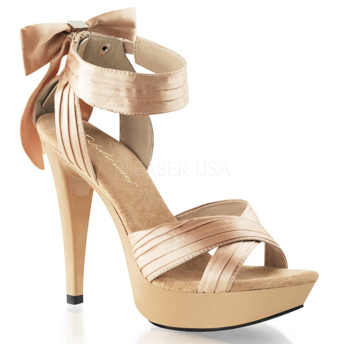 Highheels - COCKTAIL 568 ° Damen Sandalette ° Elfenbein Matt ° Fabulicious  - Onlineshop RedSixty