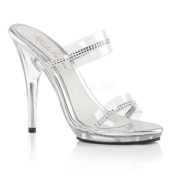 POISE 502R ° Damen Sandalette ° TransparentMatt ° Fabulicious