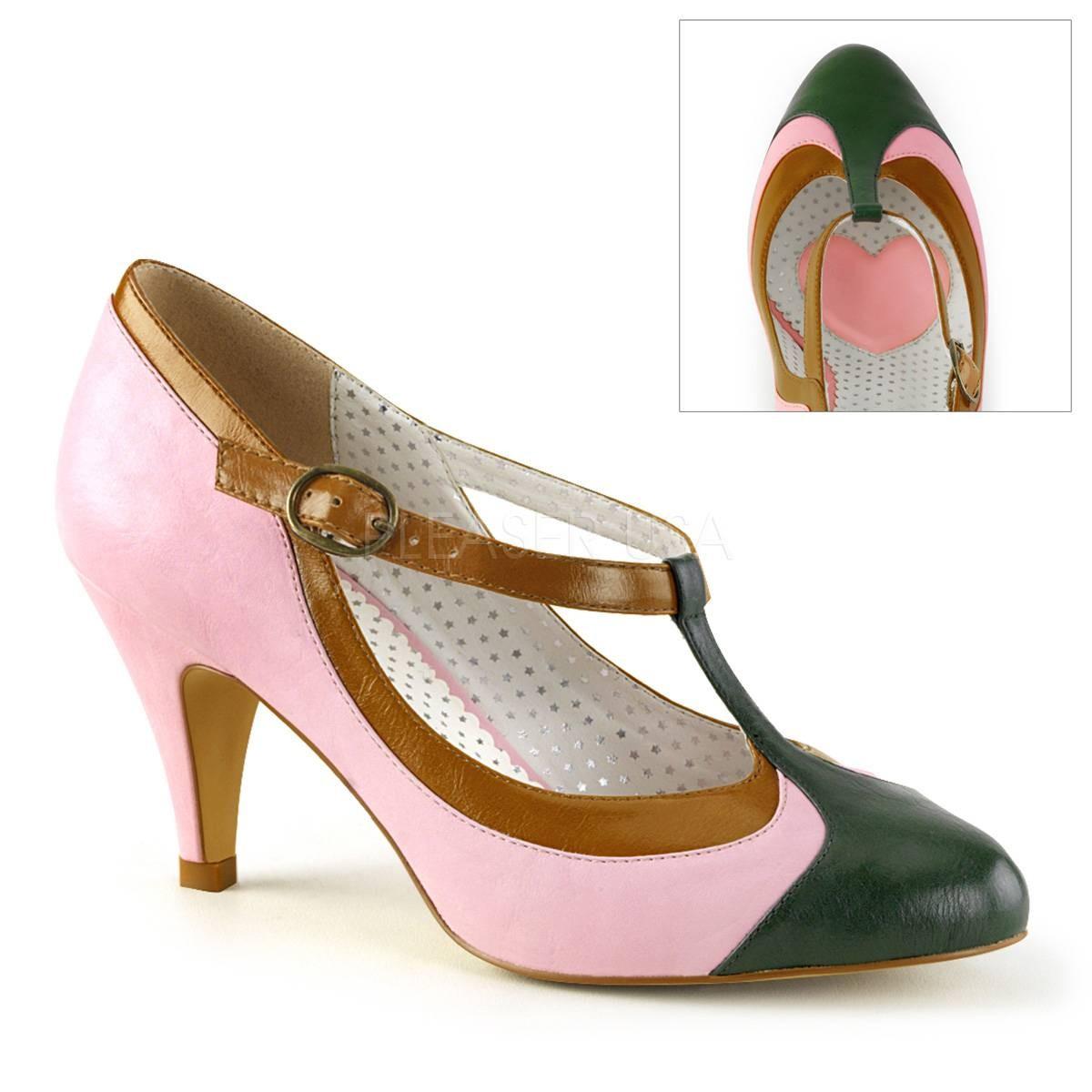 Pumps - PEACH 03 ° Damen Pumps ° RosaMatt ° Pin Up Couture  - Onlineshop RedSixty