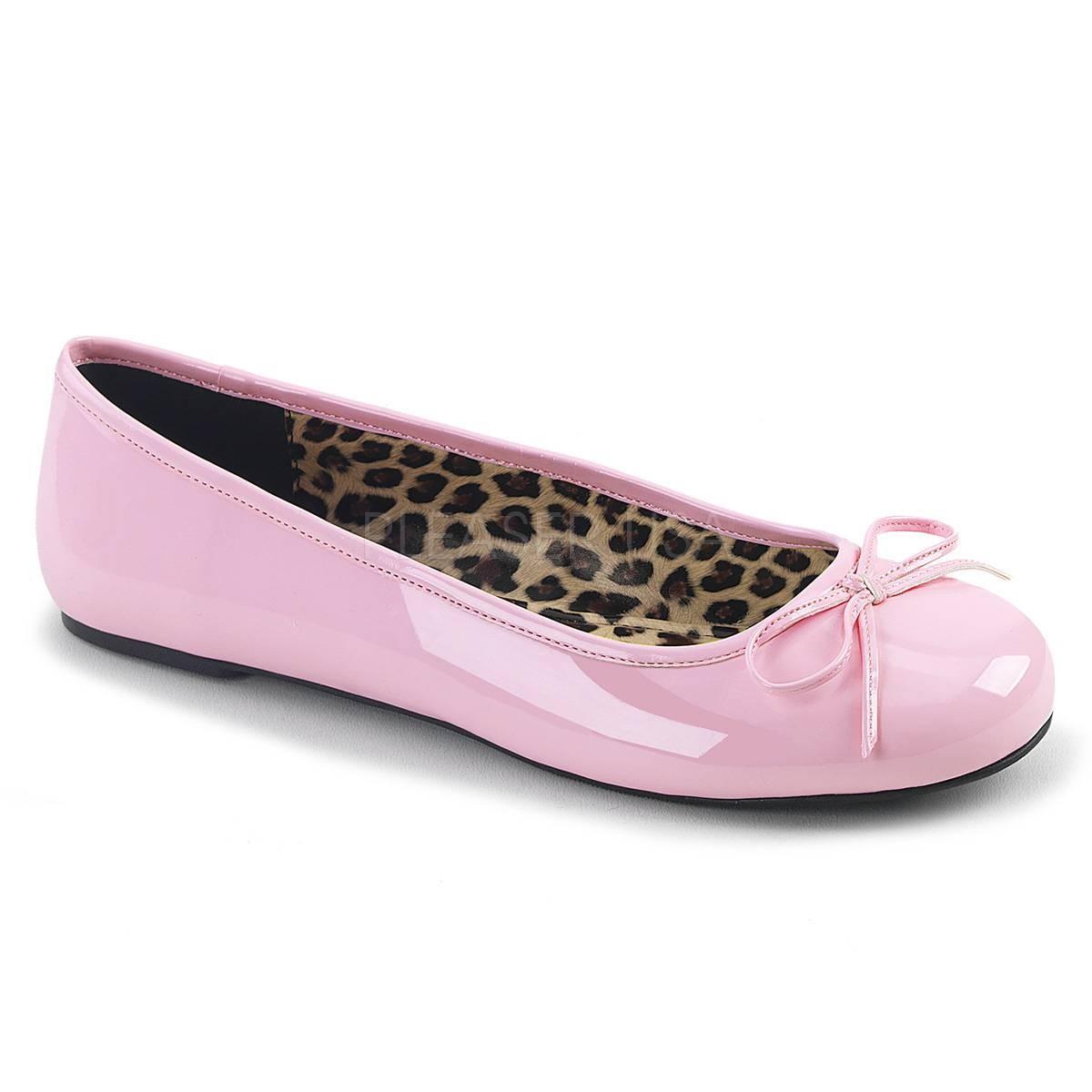Ballerinas - ANNA 01 ° Damen Ballerina ° RosaGlänzend ° Pleaser Pink Label  - Onlineshop RedSixty