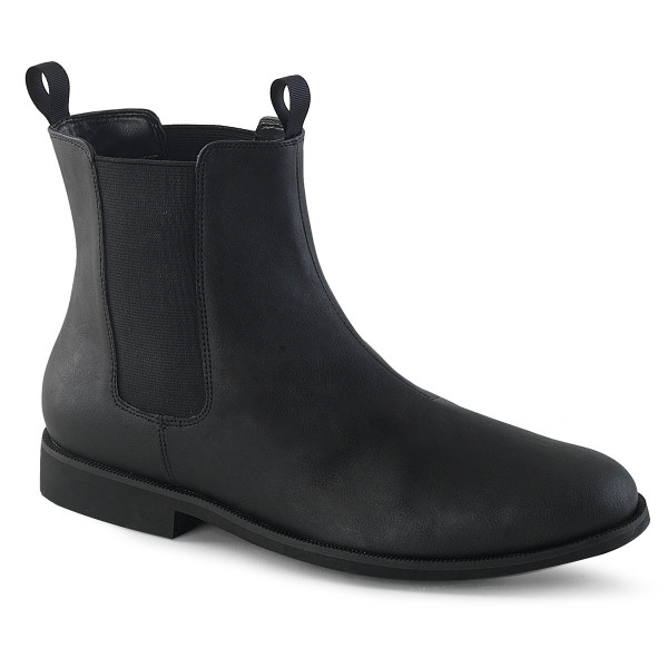 TROOPER-12 ° Männer Chelsea Boot ° Schwarz ° Funtasma