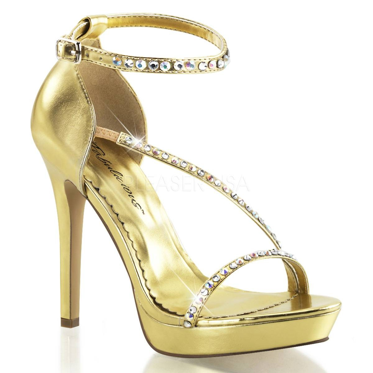 Sandalen für Frauen - LUMINA 26 ° Damen Sandalette ° Gold Matt ° Fabulicious  - Onlineshop RedSixty