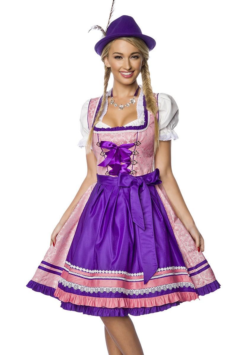 Kleider für Frauen - Premium Dirndl ° Rosa Lila ° Dirndline - Onlineshop  RedSixty 6583c79dfb