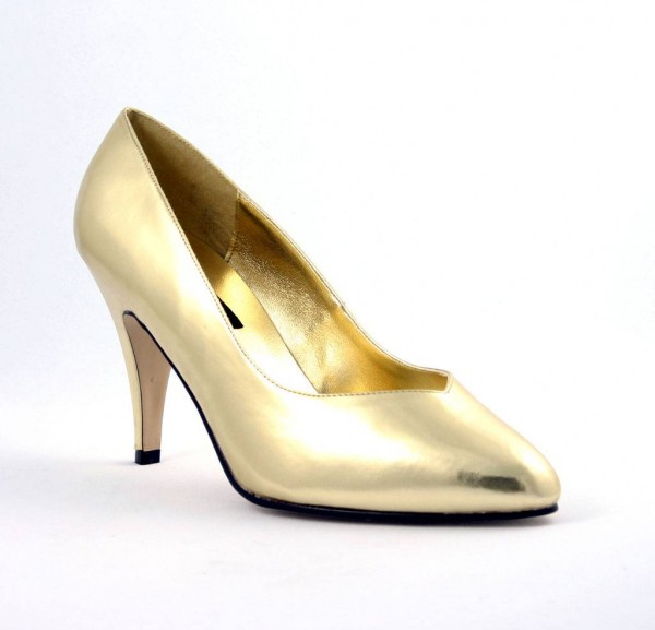 DREAM 420W ° Damen Pumps ° Gold Glänzend ° Pleaser