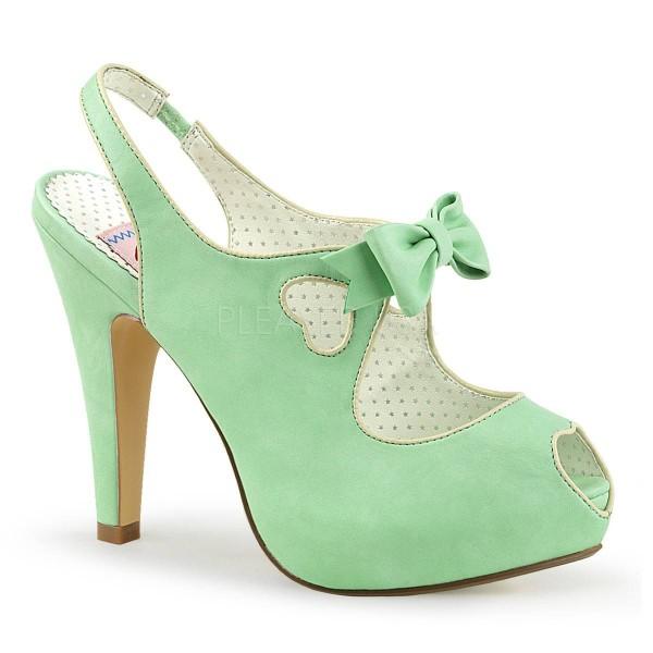 BETTIE 03 ° Damen Sandalette ° MinzeMatt ° Pin Up Couture