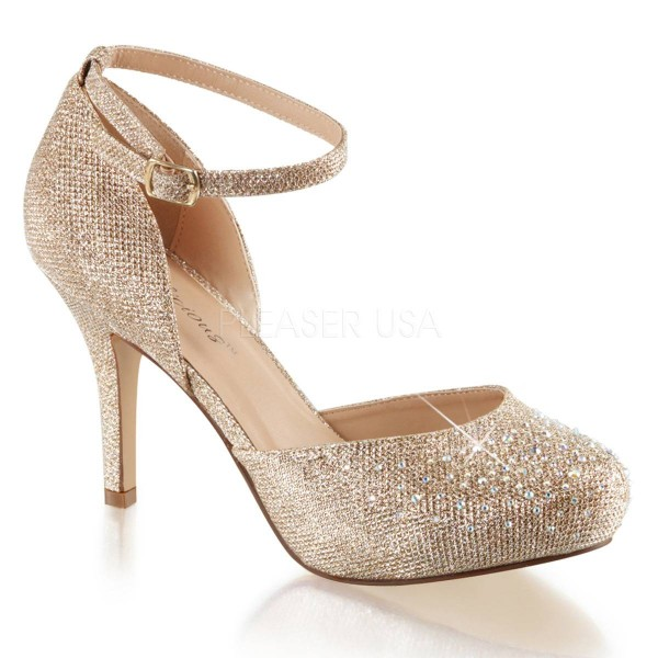 COVET 03 ° Damen Pumps ° Beige Matt ° Fabulicious