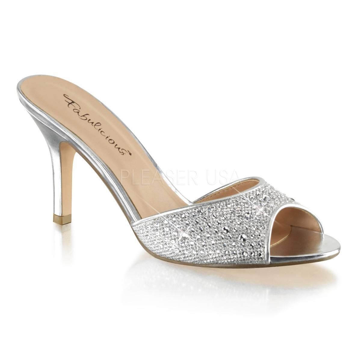 Sandalen - LUCY 01 ° Damen Sandalette ° Gold Matt ° Fabulicious  - Onlineshop RedSixty
