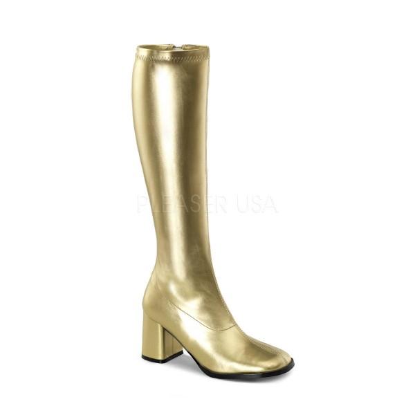 GOGO 300 ° Damen Stiefel ° Gold Matt ° Funtasma