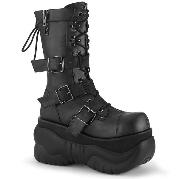 BOXER-230 ° Unisex Stiefel ° Schwarz ° Demonia