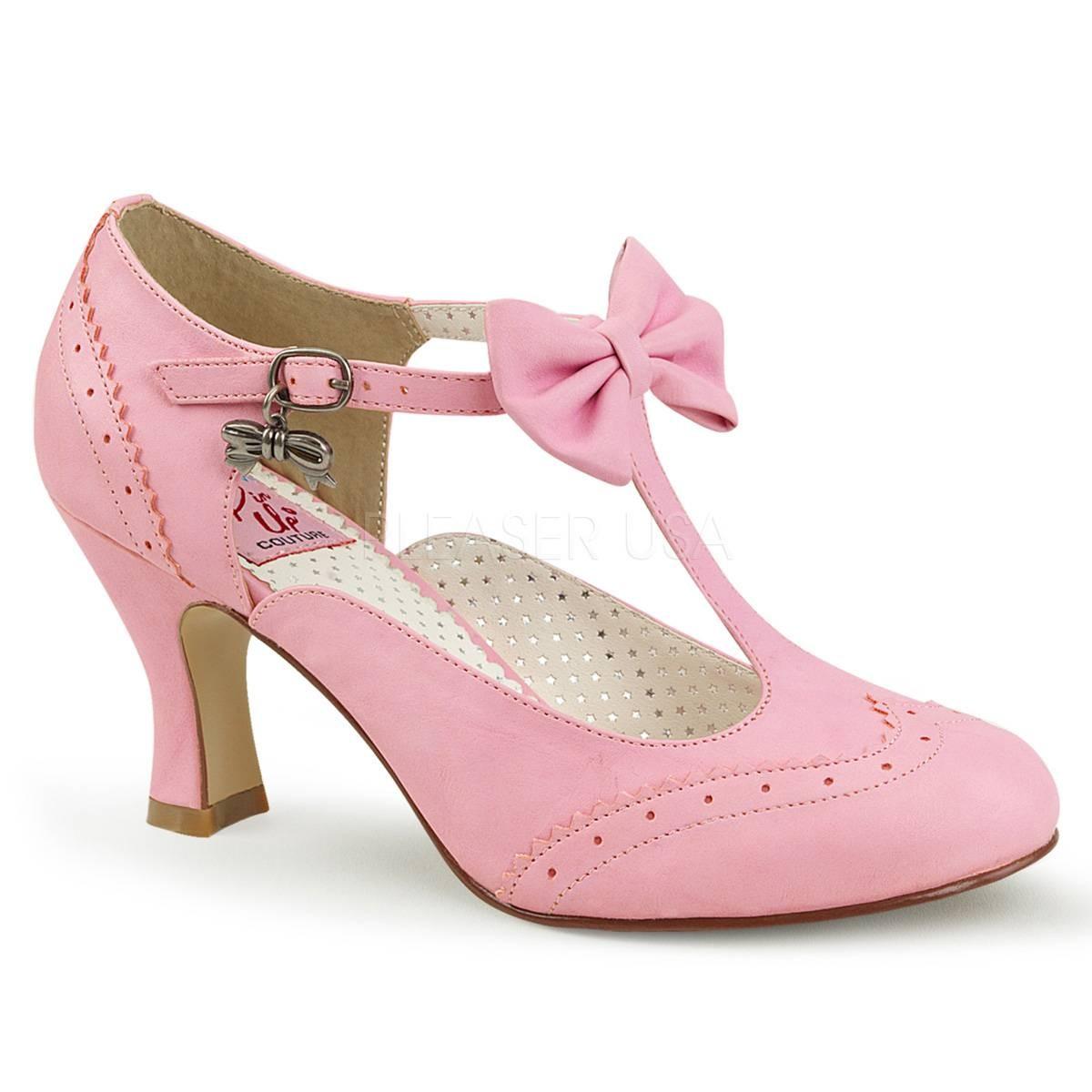 Pumps - FLAPPER 11 ° Damen Pumps ° PinkMatt ° Pin Up Couture  - Onlineshop RedSixty