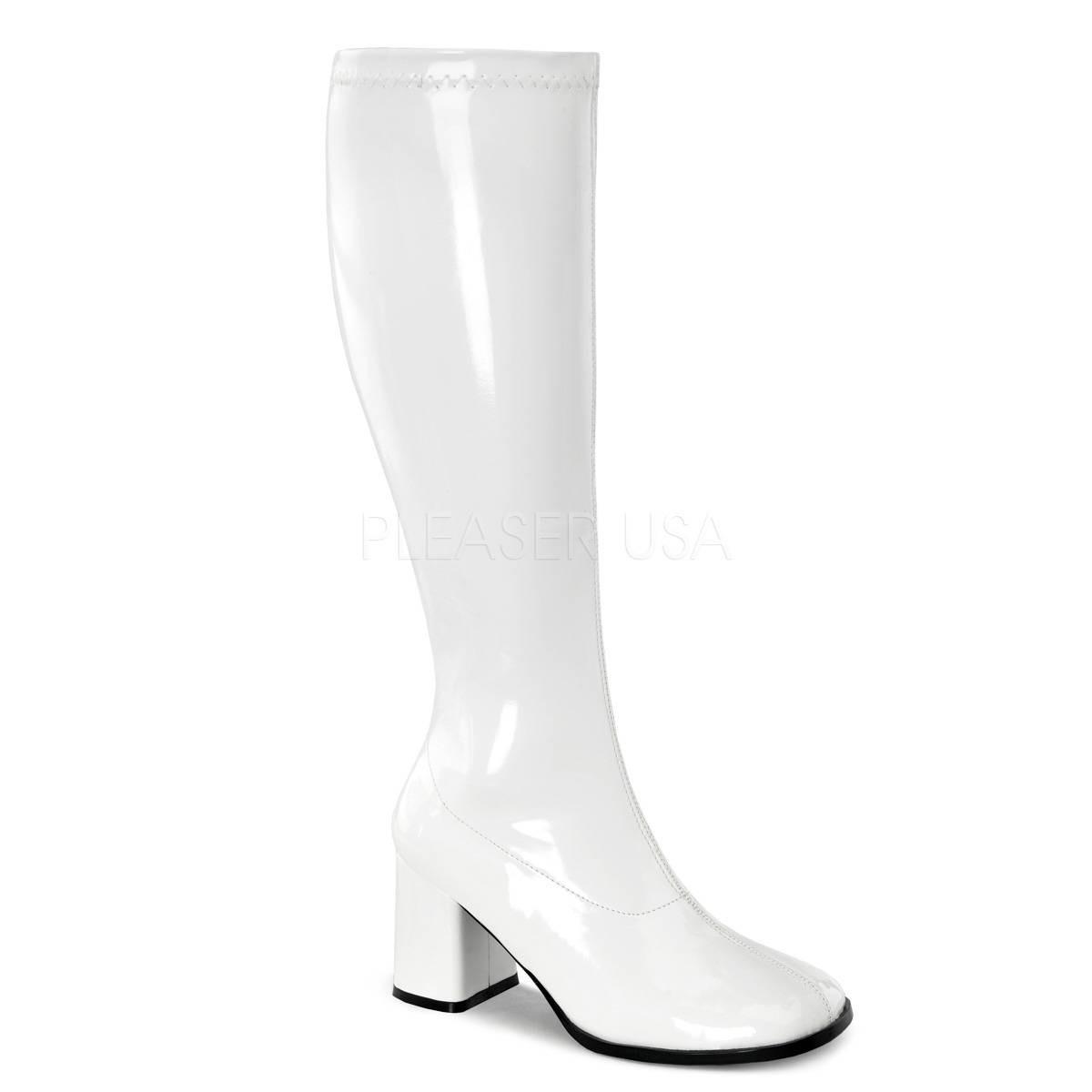 Stiefel - GOGO 300WC ° Damen Stiefel ° Weiß Glänzend ° Funtasma  - Onlineshop RedSixty