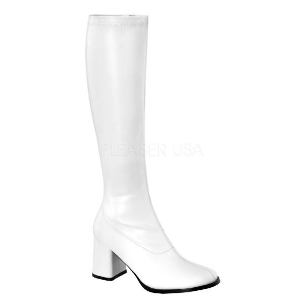 GOGO 300 ° Damen Stiefel ° Weiß Matt ° Funtasma