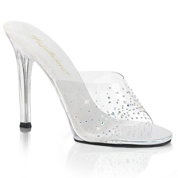 GALA 01SD ° Damen Sandalette ° TransparentMatt ° Fabulicious