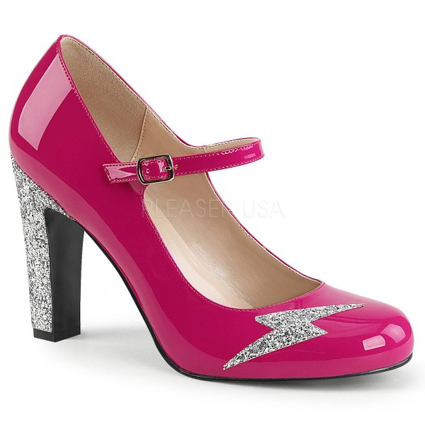 QUEEN 02 ° Damen Pumps ° PinkGlänzend ° Pleaser Pink Label