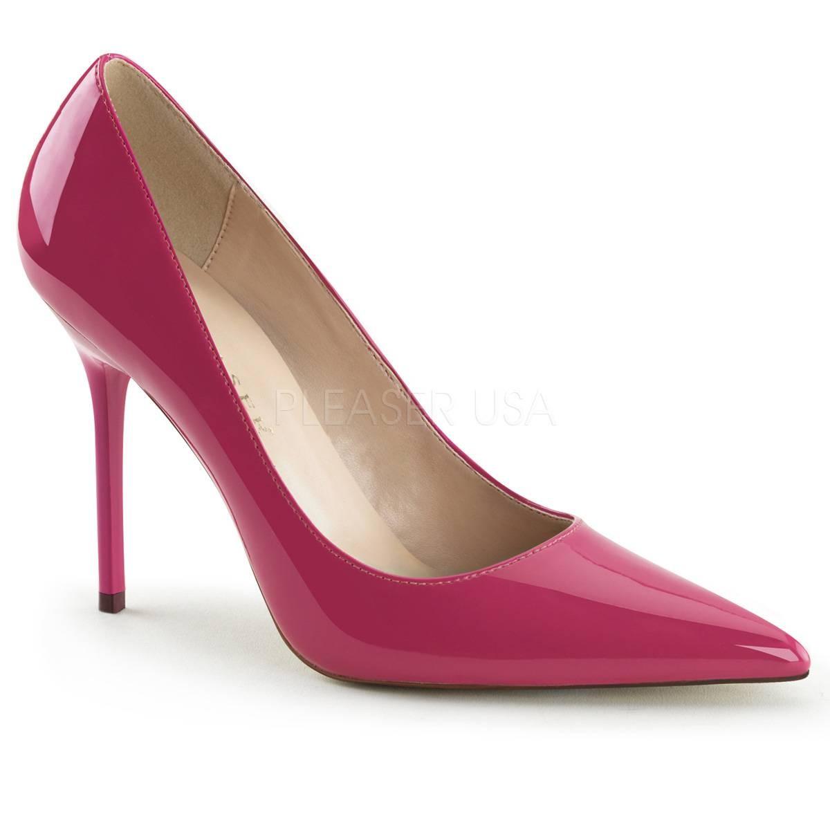 Pumps - CLASSIQUE 20 ° Damen Pumps ° Pink Glänzend ° Pleaser  - Onlineshop RedSixty