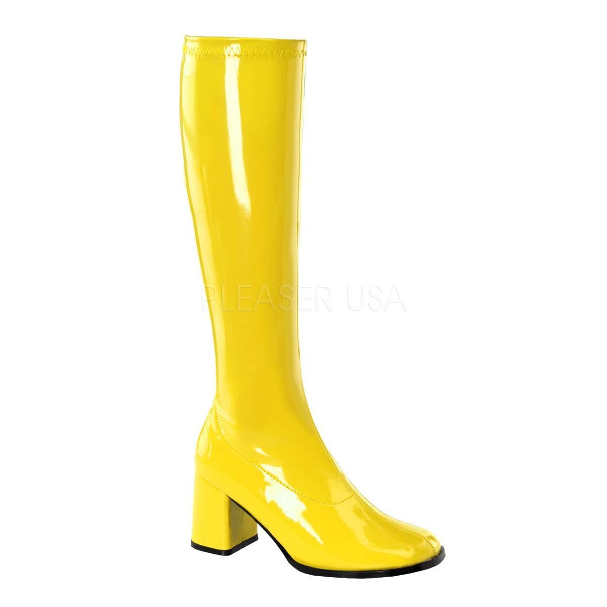 Stiefel - GOGO 300 ° Damen Stiefel ° Gelb Glänzend ° Funtasma  - Onlineshop RedSixty