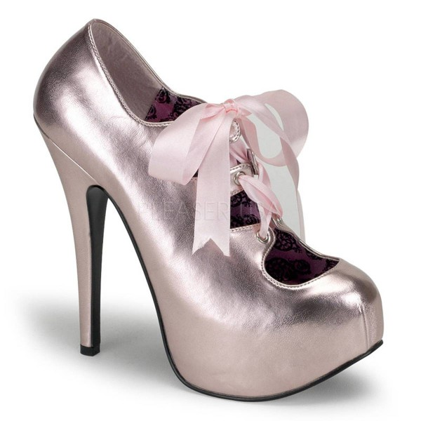 TEEZE 09 ° Damen Pumps ° Pink Matt ° Bordello