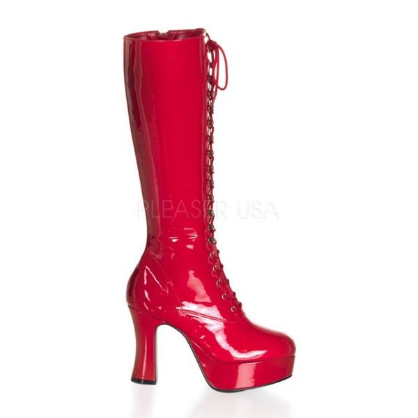 EXOTICA 2020 ° Damen Stiefel ° Rot Glänzend ° Funtasma