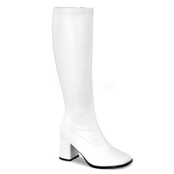 GOGO 300WC ° Damen Stiefel ° Weiß Matt ° Funtasma