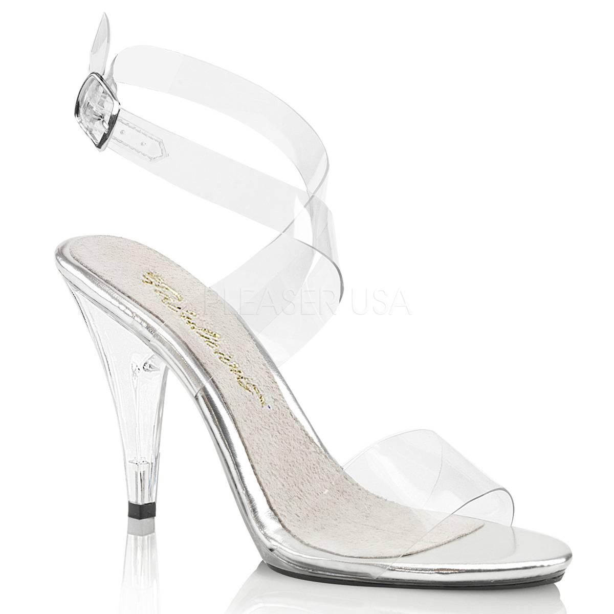 CARESS 412 ° Damen Sandalette ° TransparentMatt ° ... Fabulicious ... ° 2d7ef6