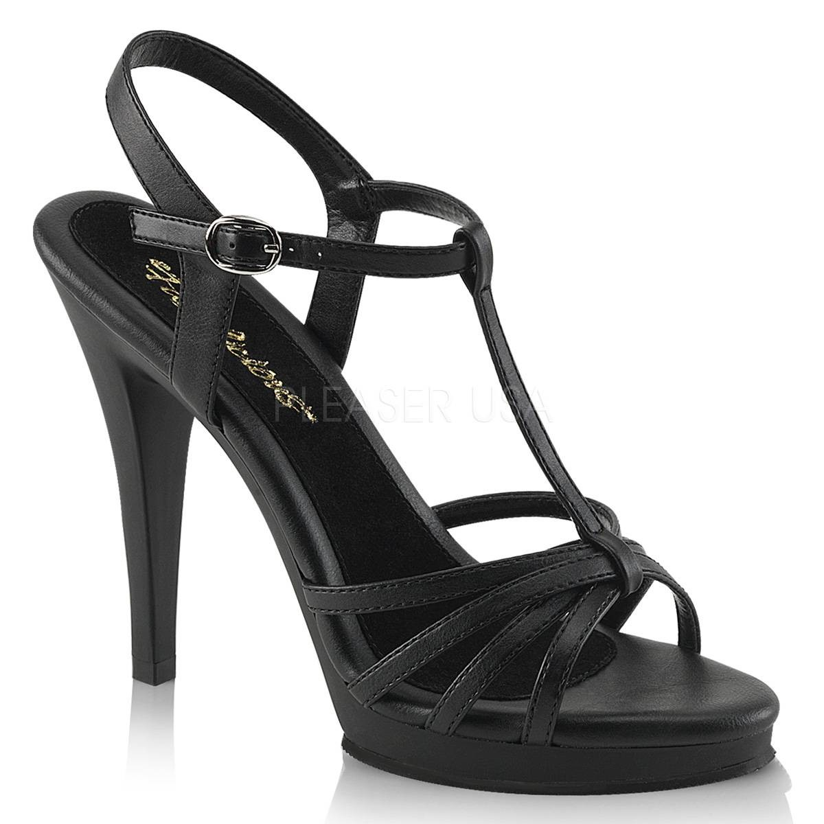 Sandalen - FLAIR 420 ° Damen Sandalette ° SchwarzMatt ° Fabulicious  - Onlineshop RedSixty